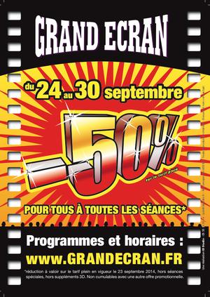-50% septembre 2014