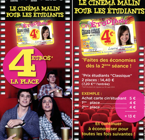 carte cin'�tudiant