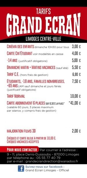 tarif site de rencontre 2014 limoges